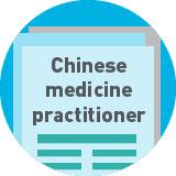 chinese medicine practitioner.