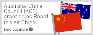 Chinese Medicine Board - Australia-China Council (ACC) grant helps Board to visit China